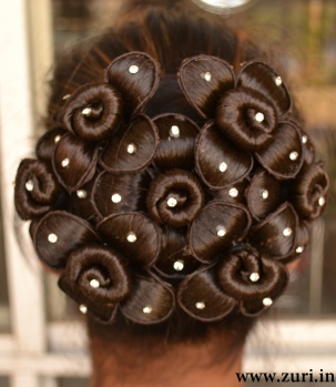 Indian bridal hairstyles 13