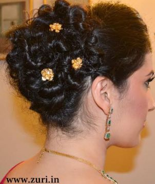 Indian bridal hairstyles 15