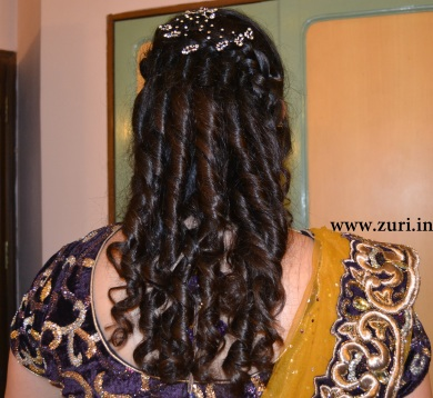 Indian bridal hairstyles 16