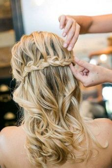 Bridal hairstyles for long hair 10