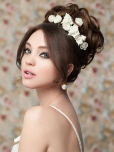 Bridal hairstyles for long hair 15