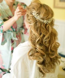 Bridal hairstyles for long hair 18