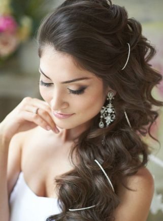 Bridal hairstyles for long hair 19