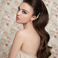 Bridal hairstyles for long hair 20