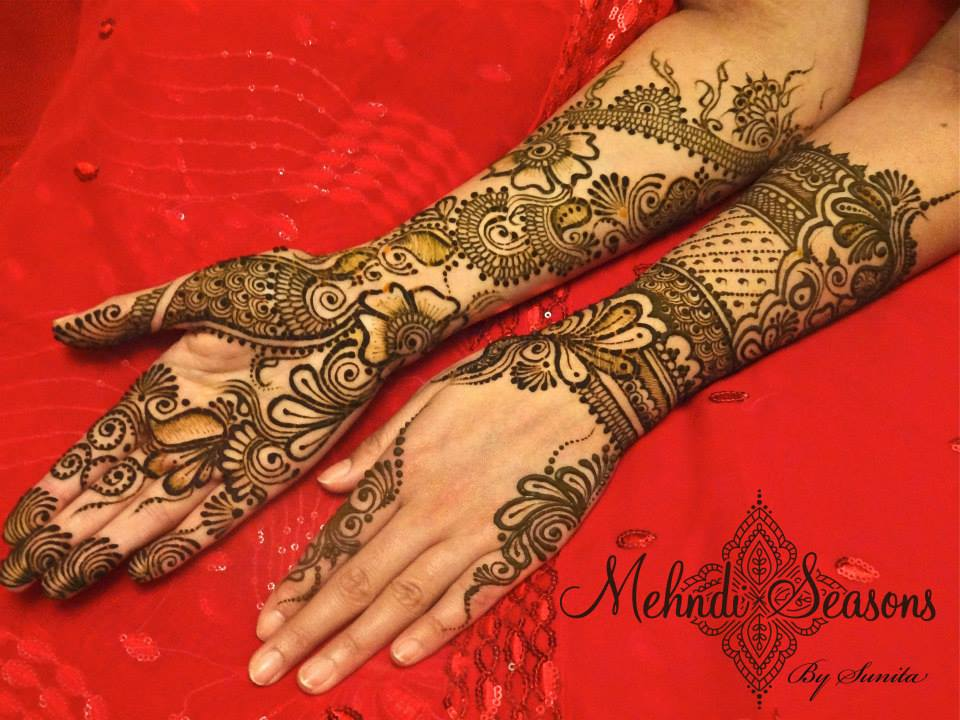 Dulhan Mehndi Designs 20 Indian Makeup And Beauty Blog