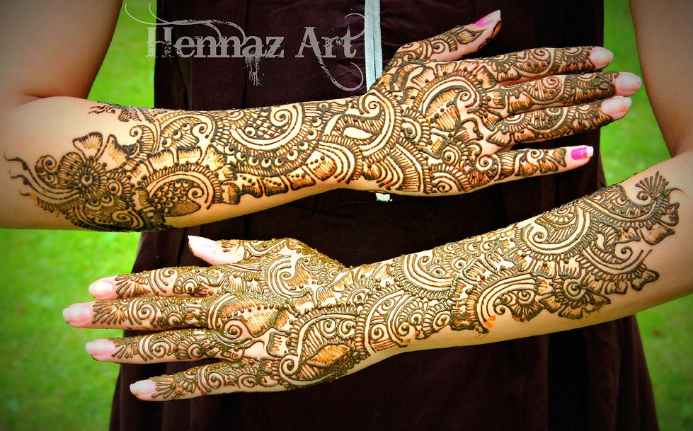Dulhan Mehndi Designs For Full Hands Images