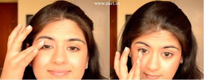 How to apply makeup - Green smokey eyes 01