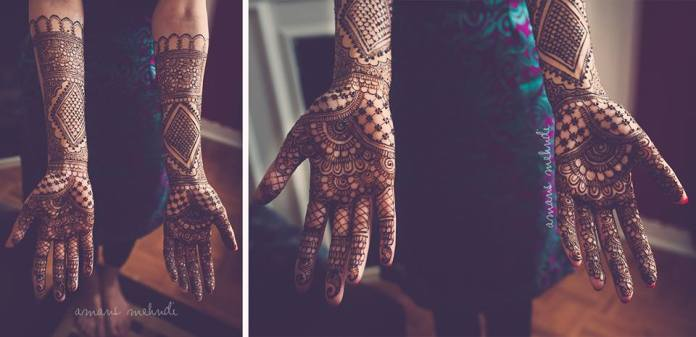 Mehandi designs by Aman 03