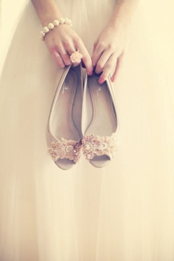 bridal shoes ballet 08