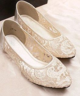 bridal shoes ballet 11