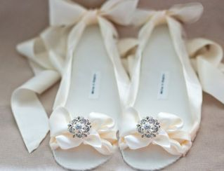 bridal shoes ballet 15
