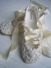 bridal shoes ballet 16