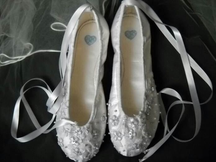 bridal shoes ballet 32