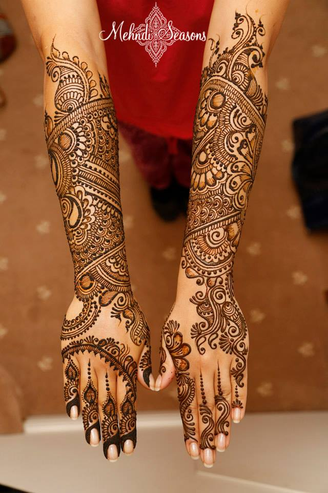 Dulhan Mehndi Designs 01 Indian Makeup And Beauty Blog