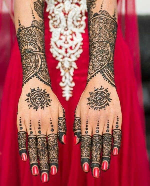 dulhan mehndi designs 18 | Indian Makeup and Beauty Blog | Beauty tips ...