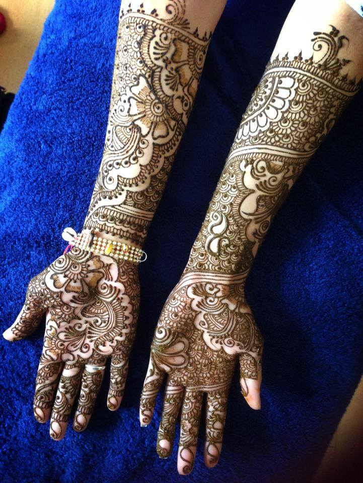 Mehndi Makeup Review : Dulhan mehndi designs indian makeup and beauty
