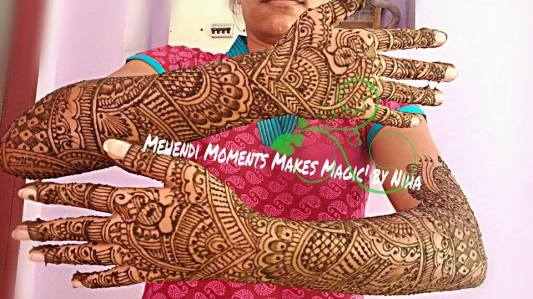 mehndi designs by nihaad 08