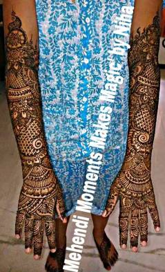 mehndi designs by nihaad 09