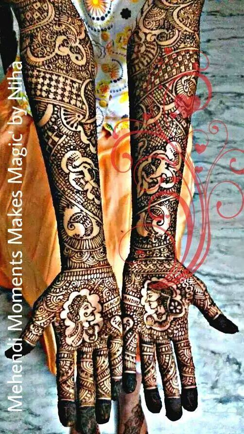 Gorgeous Mehndi Designs By Nihaad Indian Makeup And Beauty Blog