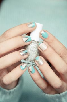 simple nail art designs for beginners 04