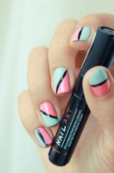 simple nail art designs for beginners 11