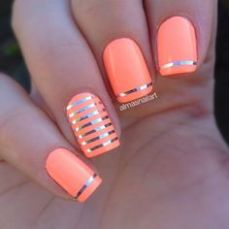 simple nail art designs for beginners 15