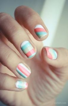 simple nail art designs for beginners 21