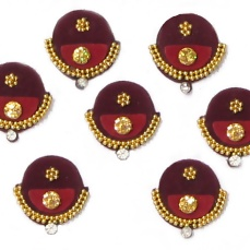 Bindi designs for navratri-18