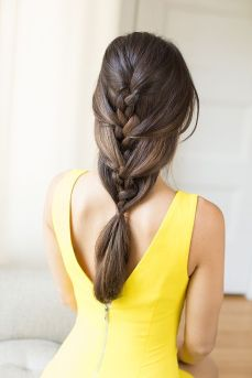 gorgeous hairstyles for navratri nights 14
