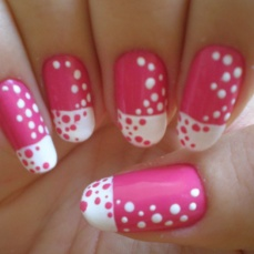 Simple nail art designs 37