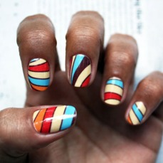 Simple nail art designs 41
