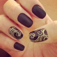 Simple nail art designs 44