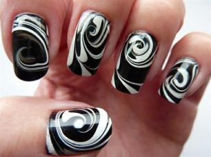 Simple nail art designs 53