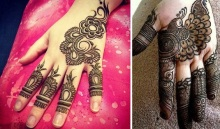 uber cool mehndi designs for navratri 21