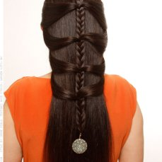 hairstyles for Navratri 07