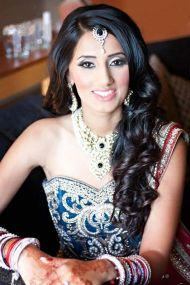 Indian bridal hairstyles 18