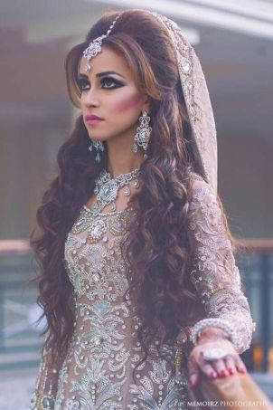 Indian bridal hairstyles 19