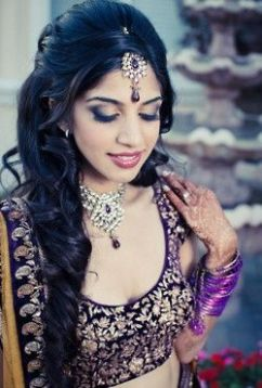 Indian bridal hairstyles 25