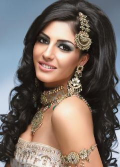 Indian bridal hairstyles 38