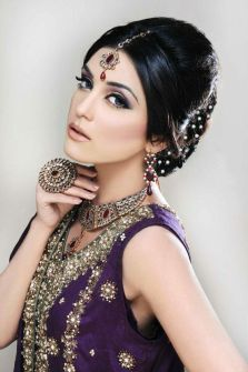 Indian bridal hairstyles 39