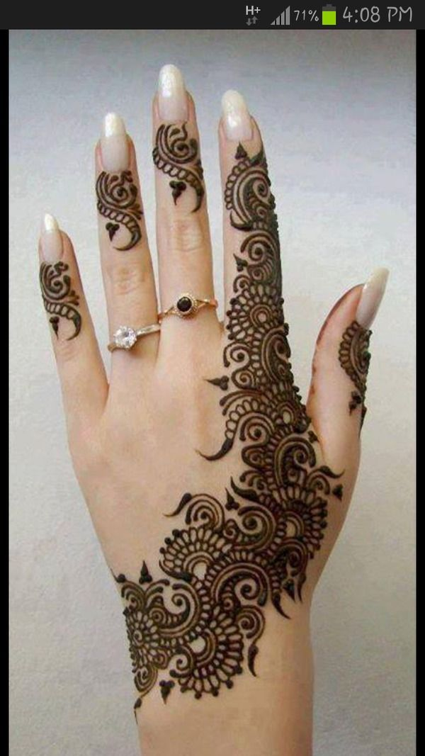 latest mehandi designs 2014 16