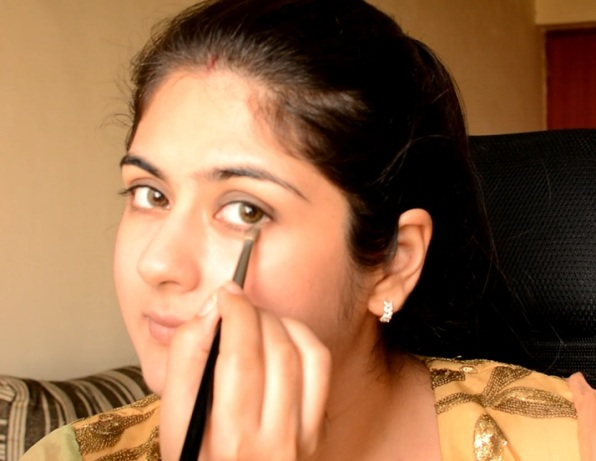 Makeup for Kar4a Chauth 2014 10