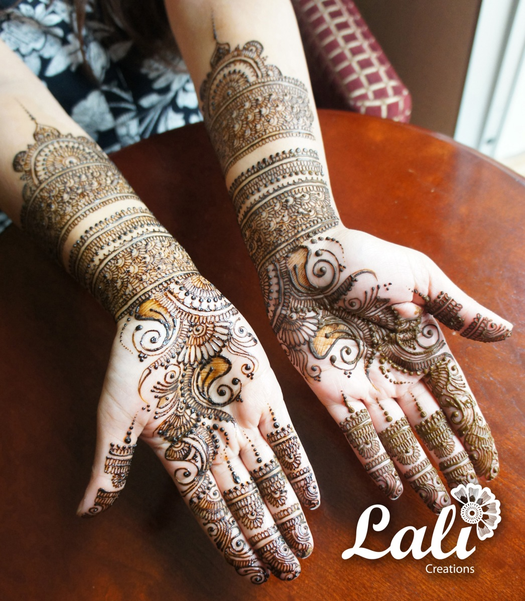Mehndi Makeup Tips In : Mehndi designs by lali indian makeup and beauty