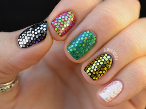 Nail art designs for Diwali 12