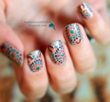 nail art designs to wear on navratri 05
