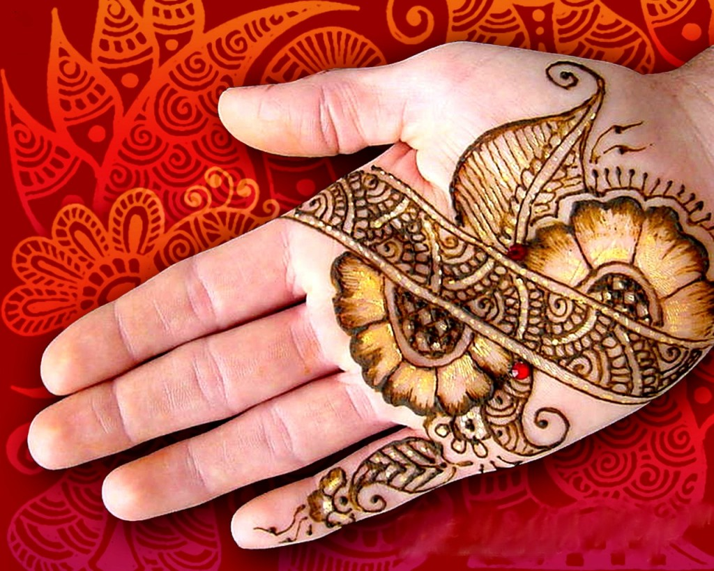 Mehndi Hand With Eye : Simple mehndi design for hands indian makeup and