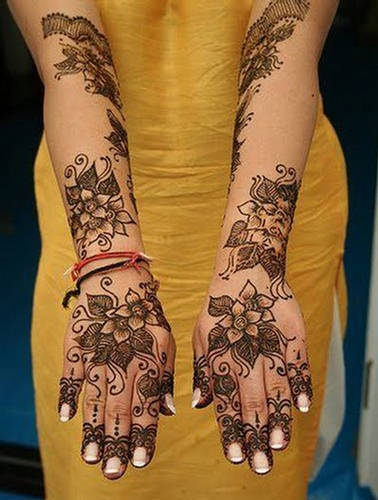 Arabic mehndi designs for full hands 14