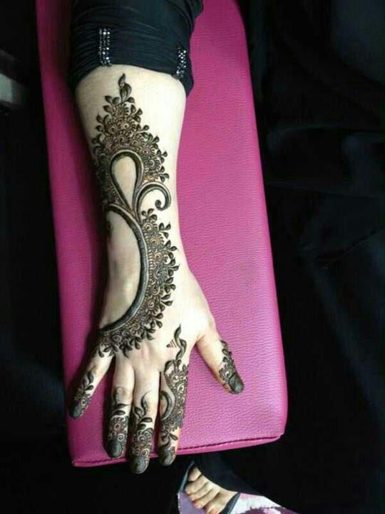 Arabic mehndi designs for full hands 16