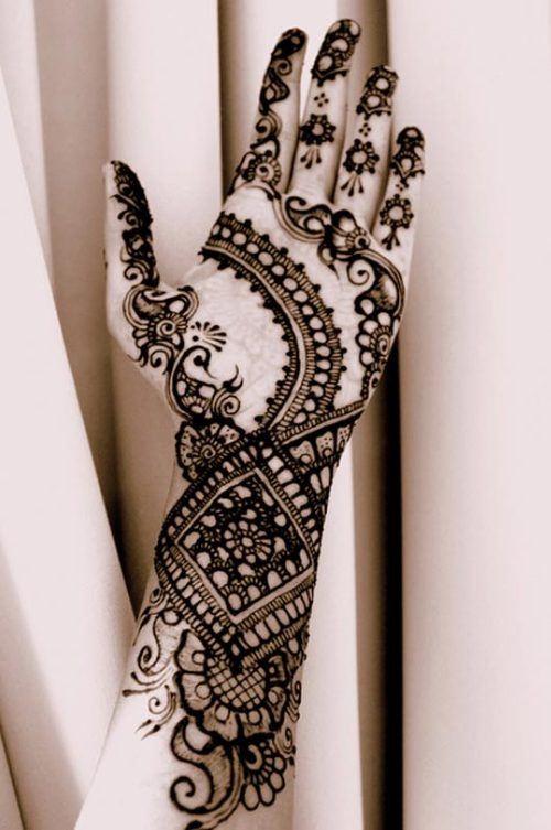 Mehndi Hand With Eye : Arabic mehndi designs for full hands indian makeup