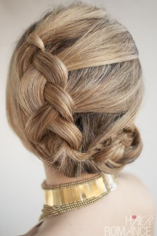 Braid and bun hairstyles for Gurupurab 03